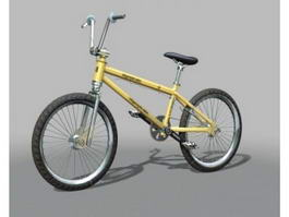 Hyper BMX Bicycle 3d model