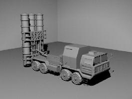 FD 2000 Missile 3d model