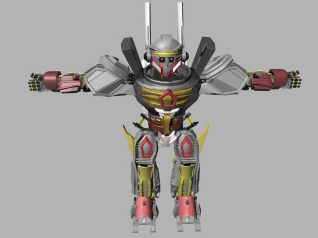 Gundam Robot 3d model