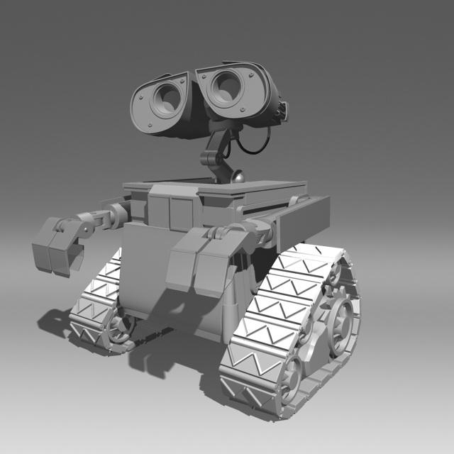 Wall E 3d Model Maya Files Free Download Modeling 40851