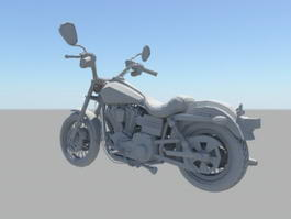 Sports Motorcycle 3d model