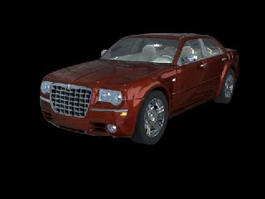 Chrysler 300 Luxury Car 3d model