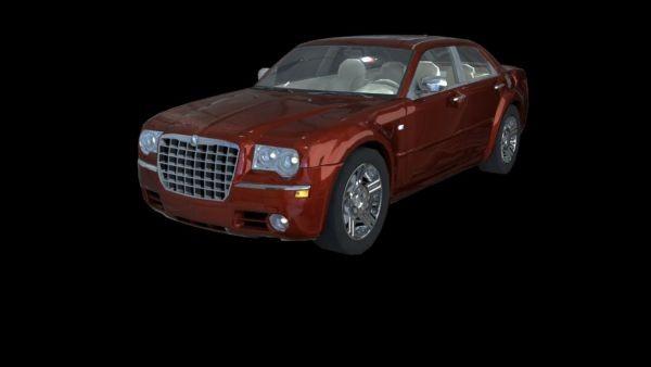 Chrysler 300 Luxury Car 3d model