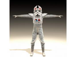 Star Wars Imperial AT-AT Driver 3d model
