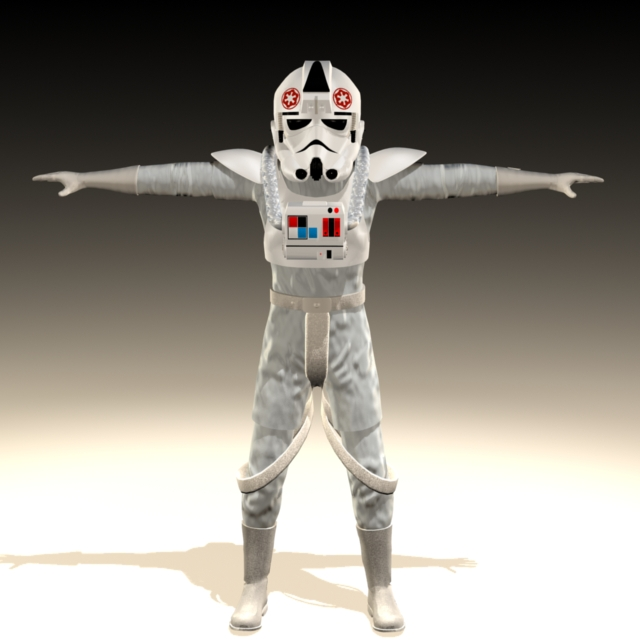 Star Wars Imperial AT-AT Driver 3d model - CadNav