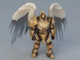 Angel Knight Character 3d model