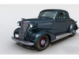Cool Classic Car 3d model