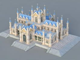 Catholic Church 3d model