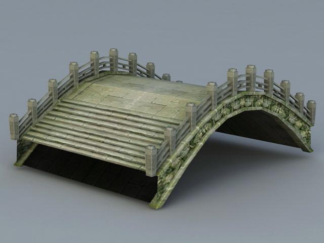 Ancient Bridge 3d model
