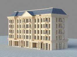 Apartment Complex 3d model