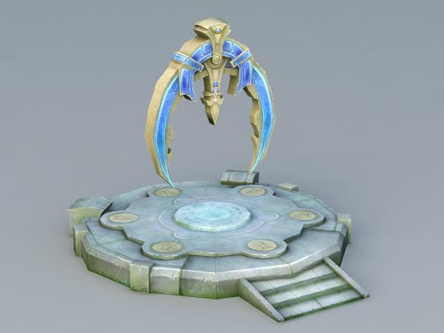 Portal Stone 3d model