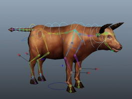 German Cattle Rig 3d model