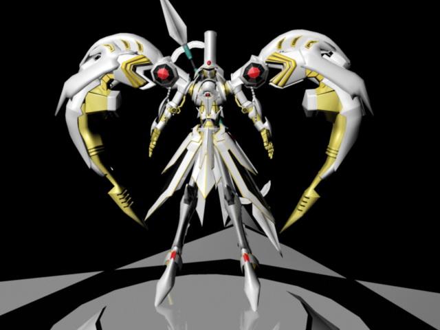 Saint Seiya Character 3d Model