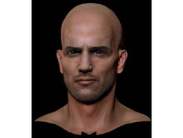 Jason Statham Head 3d model
