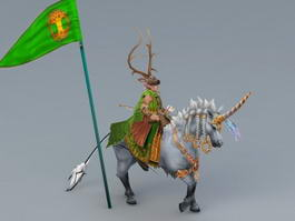 Heroe of Might and Magic 3d model