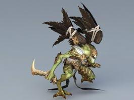 Birdman Warrior 3d model