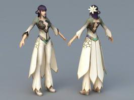 Oriental Princess 3d model