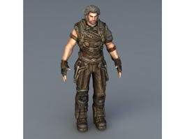 Bulletstorm Grayson Hunt 3d model