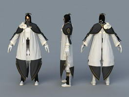 Blade and Soul Character 3d model
