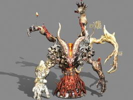 Elemental King 3d model