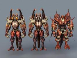 Draken Warriors 3d model