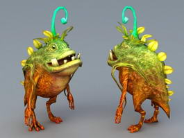 Anime Monster 3d model