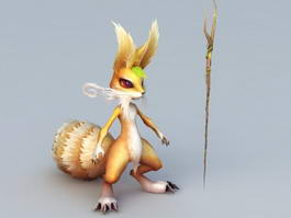 Fox Sorcerer 3d model