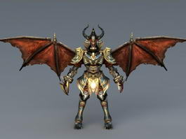 Draconian archmage 3d model