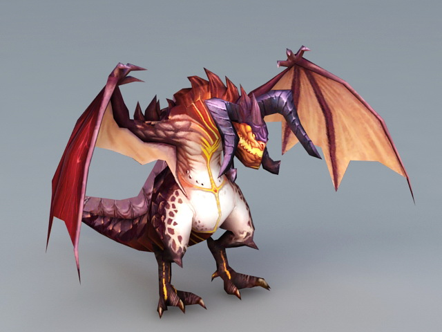 Demon Dragon 3d model
