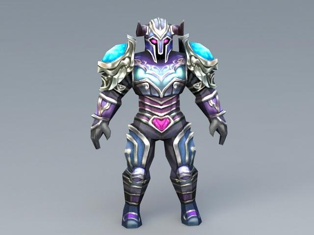 Magic Armor 3d model