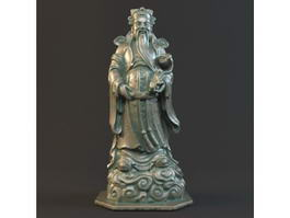 Lucky God of Chinese 3d model