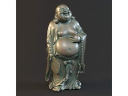 Laughing Fat Buddha 3d model