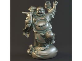 Fat Happy Buddha 3d model