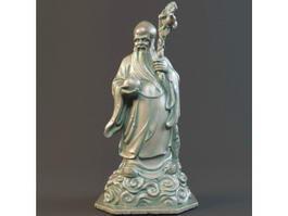 Chinese Longevity God 3d model