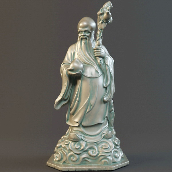 Chinese Longevity God 3d Model 3ds Max Object Files Free