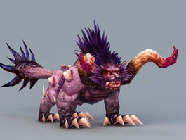 Demon Dog 3d model