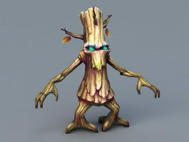 Anime Treant Monster 3d model