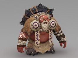 Orc Wizard 3d model