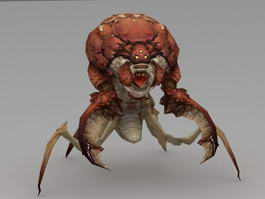 Monster Bug 3d model