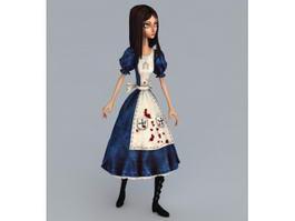 Alice Madness Returns 3d model