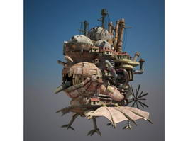 Howls Moving Castle 3d model