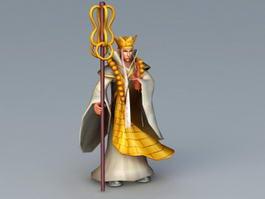 Xuanzang Character 3d model
