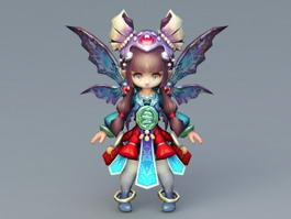 Fairy Doll 3d model