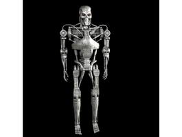 Terminator Endoskeleton 3d model