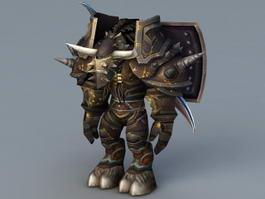 Tier 6 Tauren Warrior 3d model