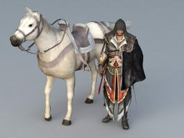 Assassins Creed Character 3d model