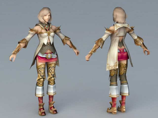 image 3d princess ashe abduction final fantasy xii
