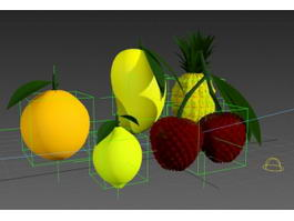 Fruit Collection 3d model