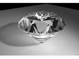 Clear Diamond 3d model