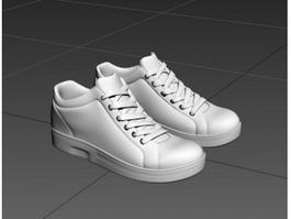 High Top Shoes 3d model